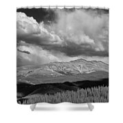 Clouds Over Breckenridge Colorado Shower Curtain