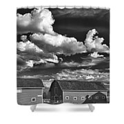 Clouds Over Knox 13804b Shower Curtain