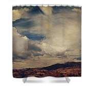 Clouds Please Carry Me Away Shower Curtain