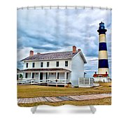 Cloudy At Bodie Shower Curtain
