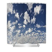 Cloudy Sky Shower Curtain