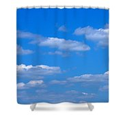 Cloudy With A Chance Of Sky Shower Curtain