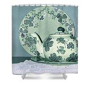 Clover Tea  Shower Curtain