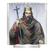 Clovis (c466-511) Shower Curtain