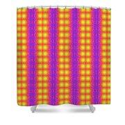 Clown Fractals Shower Curtain