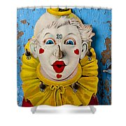 Clown Toy Game Shower Curtain