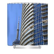 Cn Tower Shower Curtain