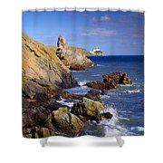 Co Dublin, The Bailey Lighthouse Shower Curtain