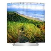 Co Kerry, Castlegregory Sandunes Shower Curtain