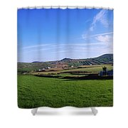 Co Kerry, Dingle Peninsula, Dunquin Shower Curtain