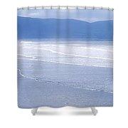 Co Kerry, Inch Beach, Ireland Shower Curtain