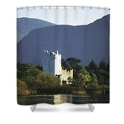 Co Kerry, Killarney, Ross Castle Shower Curtain