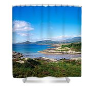 Co Kerry, Ring Of Kerry, Castlecove Shower Curtain