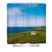 Co Kerry, Ring Of Kerry Skelligs & Shower Curtain