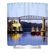Co Louth, Drogheda And River Boyne Shower Curtain
