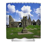 Co Offaly, Clonmacnoise Shower Curtain
