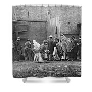Coal Line, Nyc; 1902 Shower Curtain