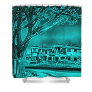 Coastal Architecture Two Shower Curtain