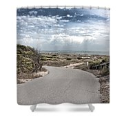 Coastal Bend Shower Curtain