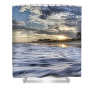 Coastal Currents Shower Curtain