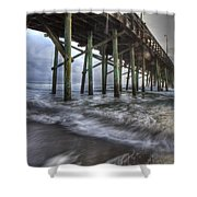 Coastal Echos  Shower Curtain