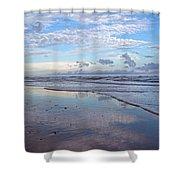 Coastal Reflections Shower Curtain