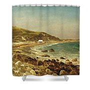Coastal Scene Shower Curtain