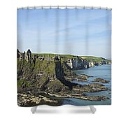 Coastal Seascape Shower Curtain