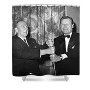 Cobb & Rockefeller, 1960 Shower Curtain