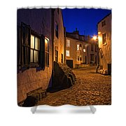 Cobblestone Road, North Yorkshire Shower Curtain by John Short