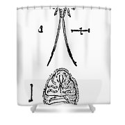 Cochineal Insect Shower Curtain