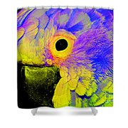 Cockatoo Of A Different Color Shower Curtain
