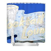 Cocktail Lounge Shower Curtain