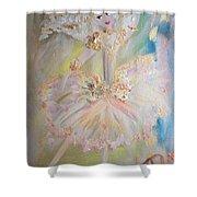 Coffee Fairy Shower Curtain