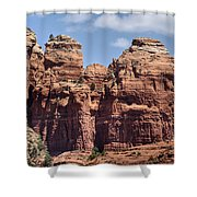 Coffee Pot Rock Formation Shower Curtain