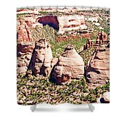 Coke Ovens - Colorado National Monument Shower Curtain