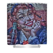 Cola Lola  Shower Curtain