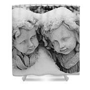 Cold Comfort Shower Curtain