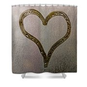 Cold Heart Shower Curtain