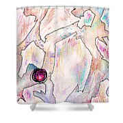 Cold Places Shower Curtain