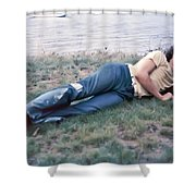 Colin Ward Shower Curtain