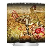 Collectibles Shower Curtain