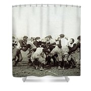 College Football Game, 1905 Shower Curtain
