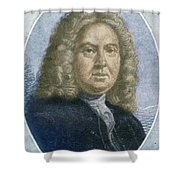 Colley Cibber, English Poet Laureate Shower Curtain