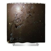 Colliding Galaxies Ngc 1275, Hubble Shower Curtain