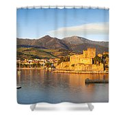 Collioure At Dawn Shower Curtain