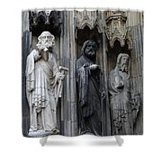 Cologne Cathedral Statues Shower Curtain