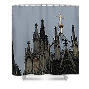 Cologne Cathedral Towers Shower Curtain