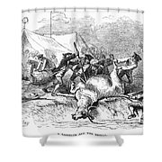 Colonial Barbecue, C1766 Shower Curtain