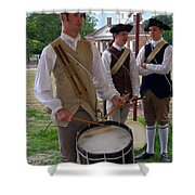 Colonial Drummer Shower Curtain